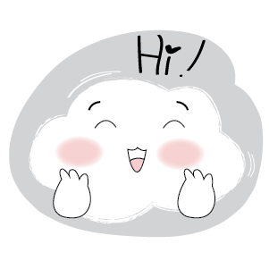 Cute Cloud Stickers messages sticker-0