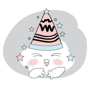 Cute Cloud Stickers messages sticker-6
