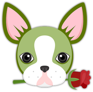 St Patrick's Boston Terrier messages sticker-5