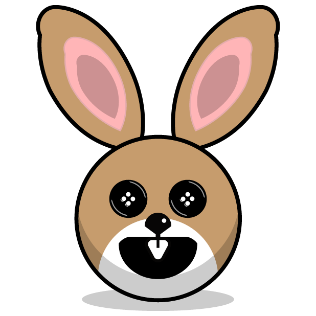 Hunny Bunnys Stickers - Rabbit Emoji Meme messages sticker-2