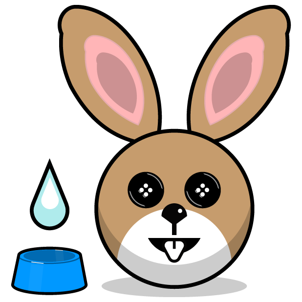 Hunny Bunnys Stickers - Rabbit Emoji Meme messages sticker-6