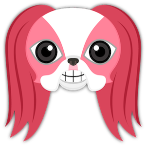 Valentine's Day Japanese Chin messages sticker-0