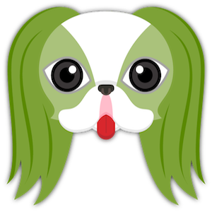 St Patrick's Day Japanese Chin messages sticker-0