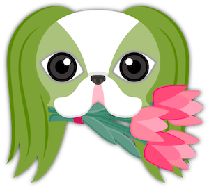St Patrick's Day Japanese Chin messages sticker-2