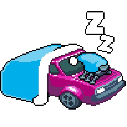 Pixel Drifters messages sticker-10