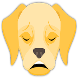 Yellow Labrador Emoji messages sticker-0