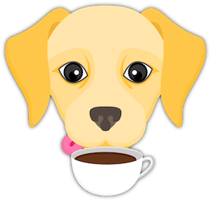 Yellow Labrador Emoji messages sticker-9