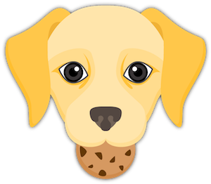 Yellow Labrador Emoji messages sticker-10