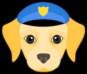 Yellow Labrador Emoji messages sticker-11
