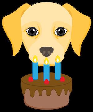 Yellow Labrador Emoji messages sticker-5