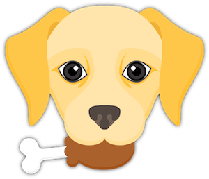 Yellow Labrador Emoji messages sticker-7