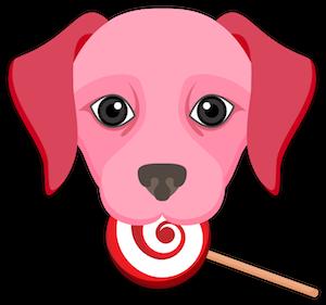 Valentine's Day Labrador messages sticker-7