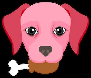 Valentine's Day Labrador messages sticker-8