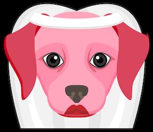 Valentine's Day Labrador messages sticker-4