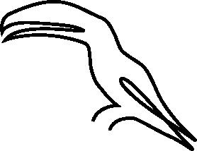 Minimalistic Animals messages sticker-9