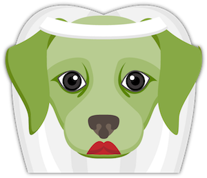 Saint Patrick's Day Labrador messages sticker-4