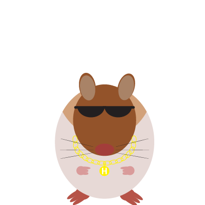 Haster the Hamster messages sticker-8