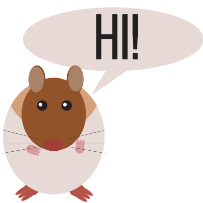 Haster the Hamster messages sticker-0