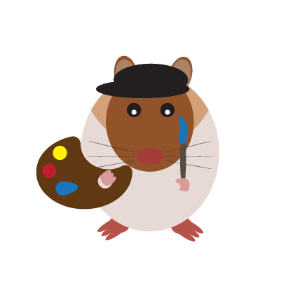 Haster the Hamster messages sticker-10