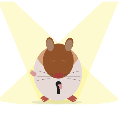 Haster the Hamster messages sticker-4
