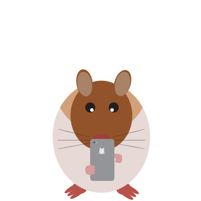 Haster the Hamster messages sticker-1