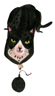 Freaky The Cat Stickers messages sticker-4