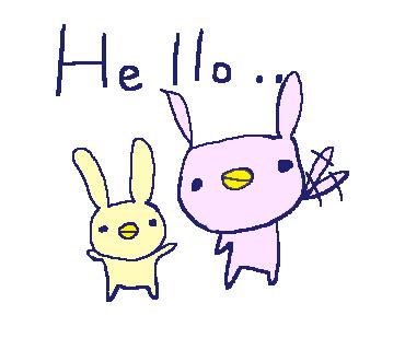 Cute Rabbit Stickers!! messages sticker-6