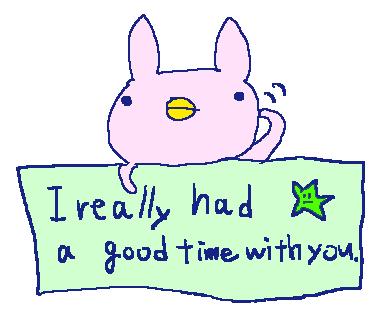 Cute Rabbit Stickers!! messages sticker-7