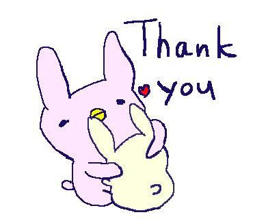 Cute Rabbit Stickers!! messages sticker-3