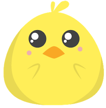 Cute Chickens - Fc Sticker messages sticker-9