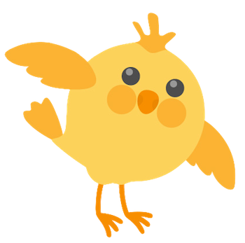Cute Chickens - Fc Sticker messages sticker-11