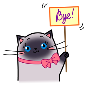 Sima The Cat Stickers Pack 1 messages sticker-8