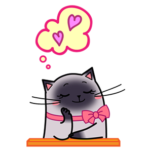 Sima The Cat Stickers Pack 1 messages sticker-1