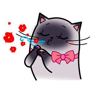 Sima The Cat Stickers Pack 1 messages sticker-3