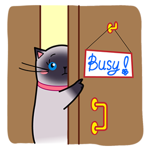 Sima The Cat Stickers Pack 1 messages sticker-6