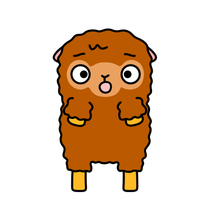 Funny Sheep Stickers messages sticker-9