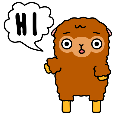 Funny Sheep Stickers messages sticker-0