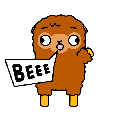 Funny Sheep Stickers messages sticker-3
