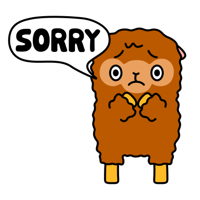 Funny Sheep Stickers messages sticker-2