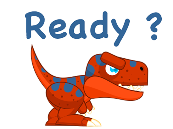 Say it as Dino Stickers messages sticker-3