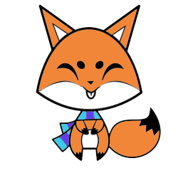 Cute Foxy Stickers messages sticker-4