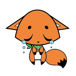 Cute Foxy Stickers messages sticker-6