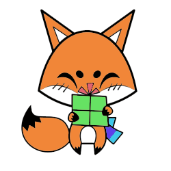 Cute Foxy Stickers messages sticker-2
