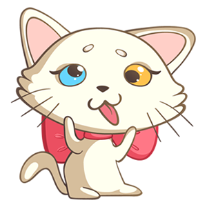 Nika The Cat Stickers Pack 1 messages sticker-8