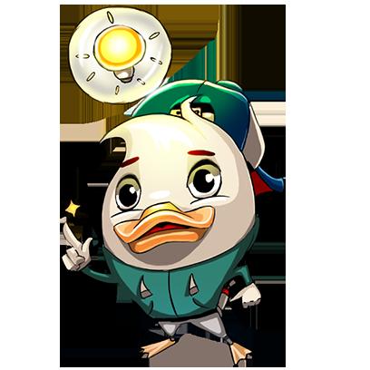 What Da Duck messages sticker-8