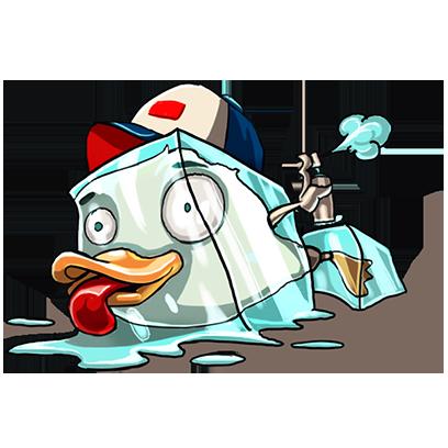 What Da Duck messages sticker-2