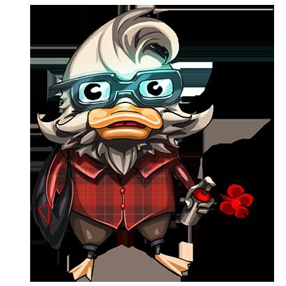 What Da Duck messages sticker-4