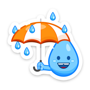 Weather Up ▴ Live Weather Maps messages sticker-7