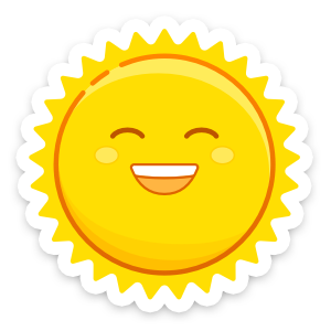 Weather Up ▴ Live Weather Maps messages sticker-0