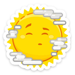 Weather Up ▴ Live Weather Maps messages sticker-5